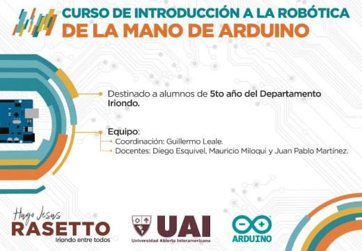 Curso de Robótica y Arduino en Iriondo.
