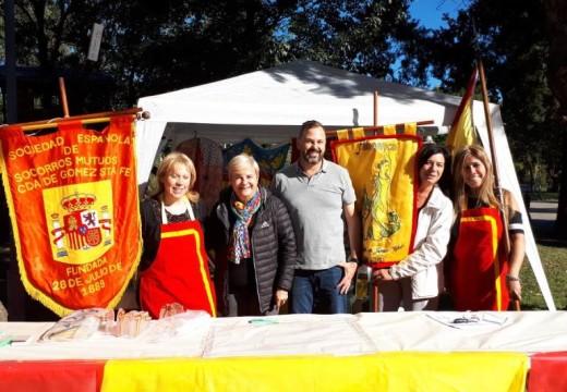 Clerici junto a Asociación Española en tradicional celebración.