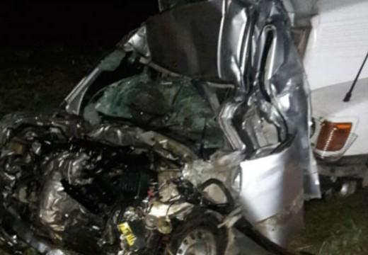 Un muerto en múltiple choque en la autopista a Córdoba, cerca de Cañada de Gómez.