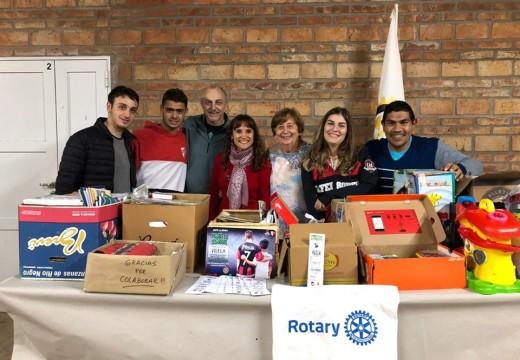 Rotary Club hizo una nueva entrega al Hospital de Niños Victor J. Vilela.