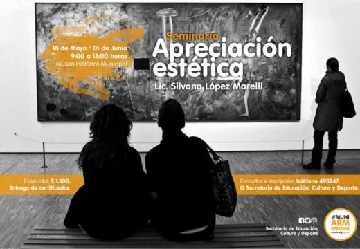 Seminario sobre Arte en el Museo Histórico Municipal.