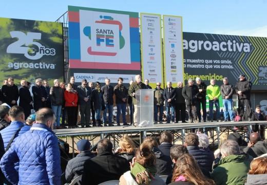 AgroActiva inauguro oficialmente su 25ª edición ante miles de visitantes.