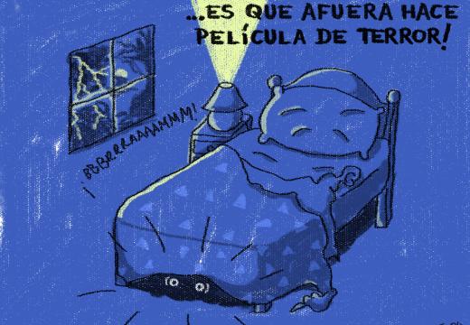 De repente René: «Película de terror» – Por Fer Ola