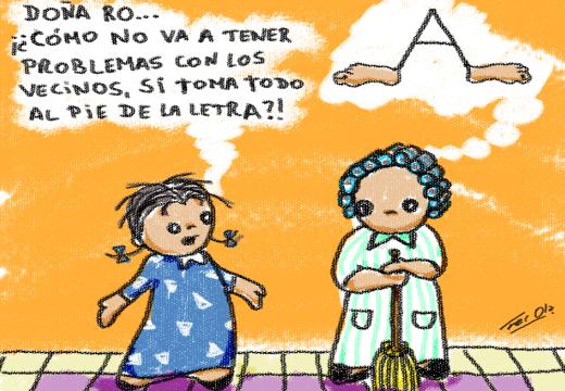 De repente René: «Pie de la letra» – Por Fer Ola