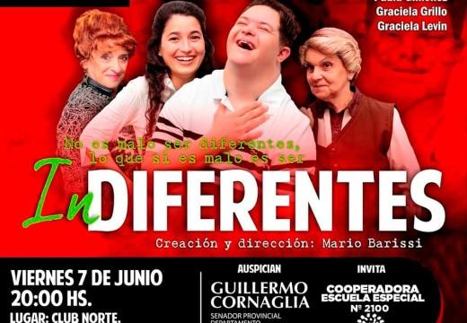 Sala Iris Marga presentara dos obras de teatro.