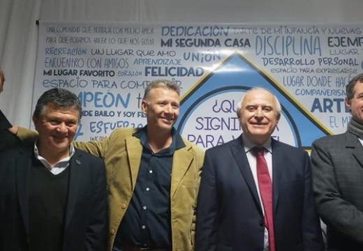 Cornaglia participo por los 80° años del Club Norte.