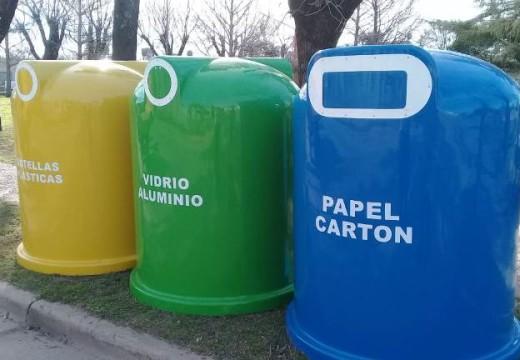 Armstrong. Contenedores para cuidar el medio ambiente.