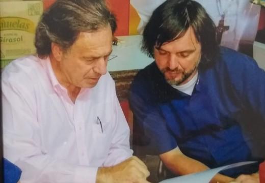 Julio Eggimann: «Donde entran un libro y el deporte no entran la violencia ni la droga».