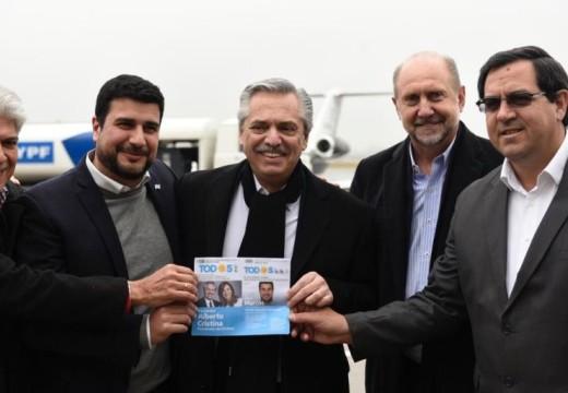 """Marcos Cleri: """"El vínculo de Alberto Fernández con Omar Perotti multiplica la esperanza"""""""