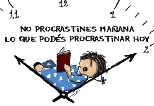 De repente René: «Procrastinar» – Por Fer Ola