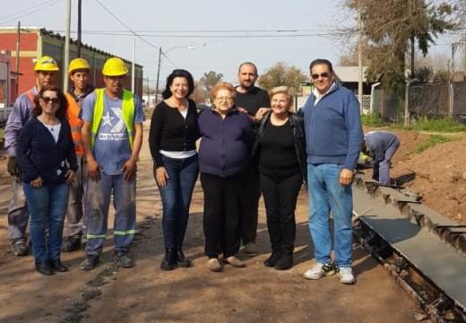 Cañada de Gomez. Municipio avanza con otro frente de pavimento en zona sur.
