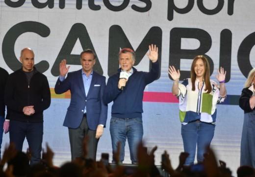 Mauricio Macri reconoció la derrota.