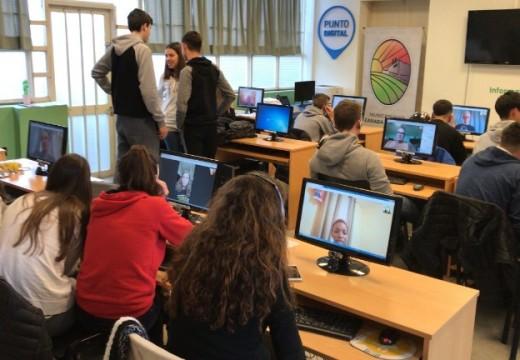 Cañada de Gomez. Se realizo en Punto Digital el proyecto «Intercambio de Idiomas y Culturas»