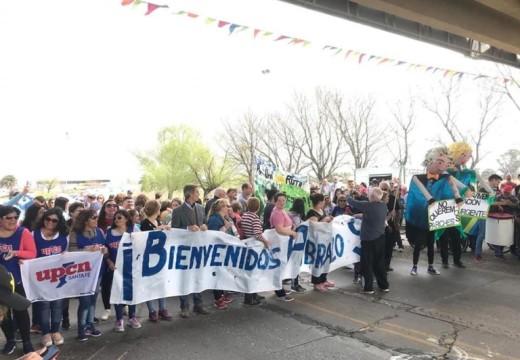 Cañada de Gomez. Autoridades municipales participaron de reclamo por reparación de Ruta 9.