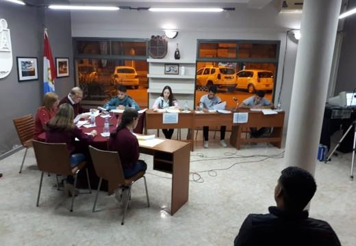 El Concejo Joven Sesiono el día 12 de Septiembre.