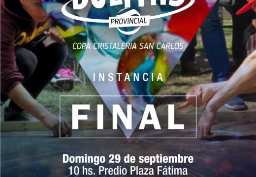 San Jorge. Se viene la final del torneo provincial de bolitas «Copa Cristalería San Carlos – 70º Aniversario»