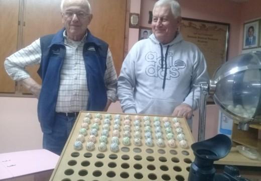 Ganadores de la Tómbola Solidaria organizada por la Asociación Bomberos Voluntarios de Armstrong.