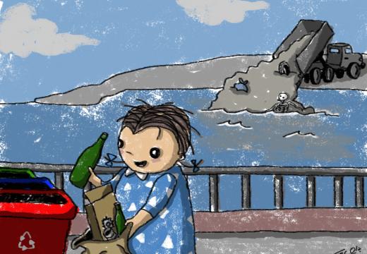De repente René: «Reciclar» – Por Fer Ola