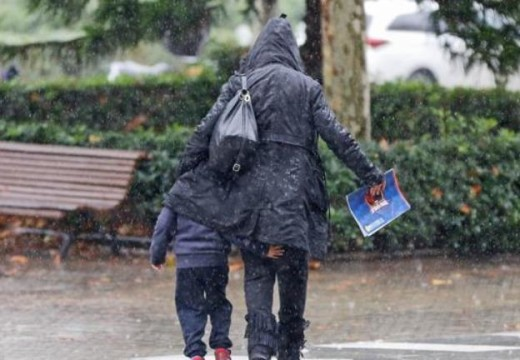 Día de la Madre se festeja con lluvia.