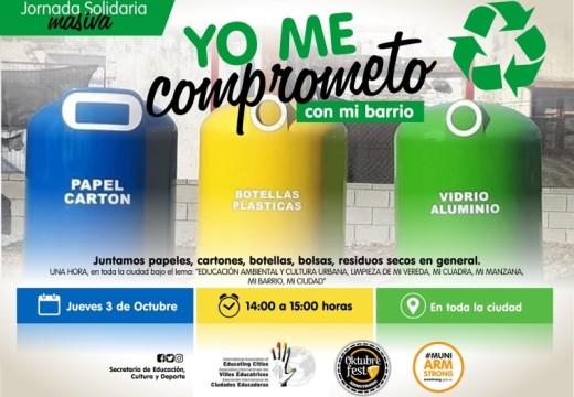 """Armstrong. Nueva jornada solidaria """"Yo me Comprometo""""."""