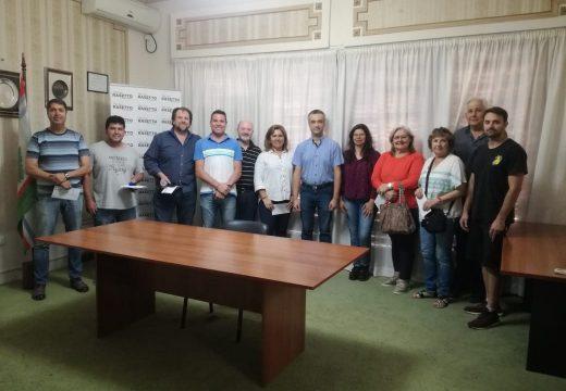 Entrega de aportes del Senado a instituciones de Cañada de Gómez.