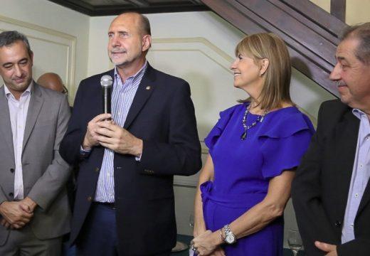 """Perotti en Fisfe: """"Queremos consolidar una Santa Fe industrial, para convertirla en el motor de la Argentina"""