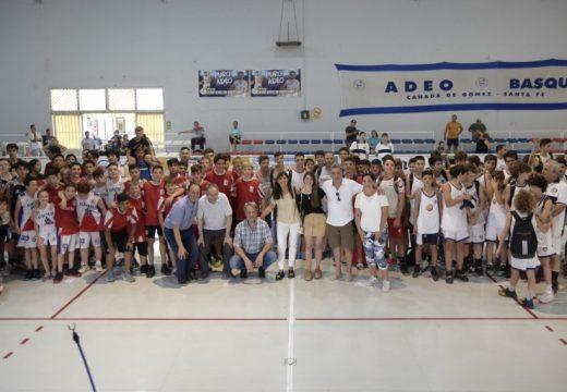 Cañada de Gomez. Respaldo del municipio al torneo de basquet Osvaldo Sayas.
