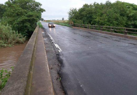Cañada de Gómez. Autoridades municipales destacan el comportamiento de las obras Hídricas.