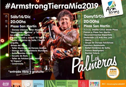 """Programación de la Fiesta """"Armstrong Tierra Mía"""" 2019"""