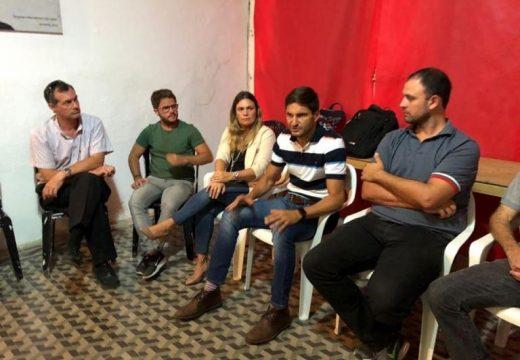 Diputados Provinciales se reunieron con referentes de la UCR en nuestra ciudad.