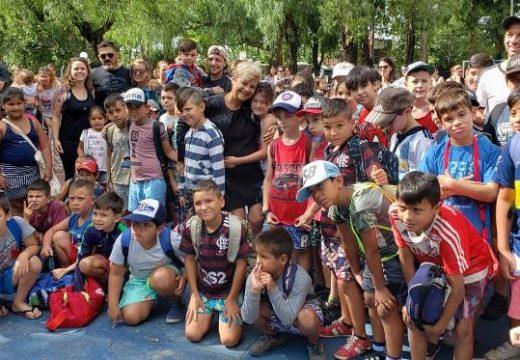 Cañada de Gomez. Nuevamente 400 chicos disfrutan de la colonia de vacaciones.