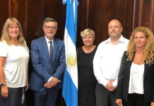 Clerici se reunió con el Secretario de Industria de la Nación.