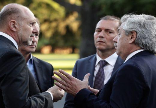 Perotti se reunió con Alberto Fernández  y funcionarios nacionales