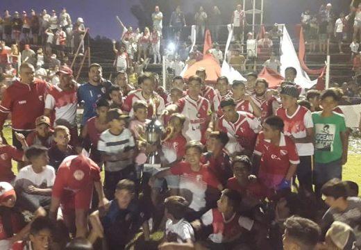 Barraca es bi campeón de la Copa Ciudad de Armstrong.