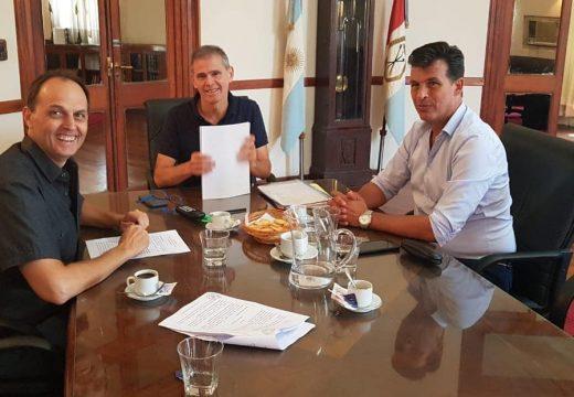Nuevas reuniones de Rasetto con funcionarios provinciales.