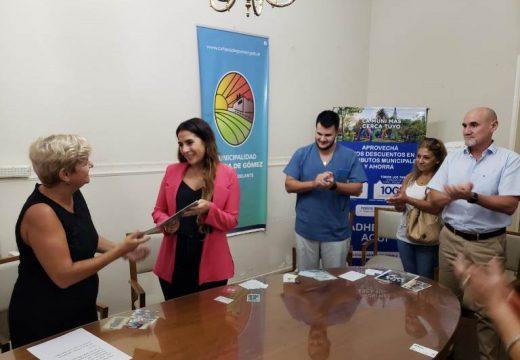 Cañada de Gomez. Josefina Rusconi asumió como nueva Secretaria de Producción.