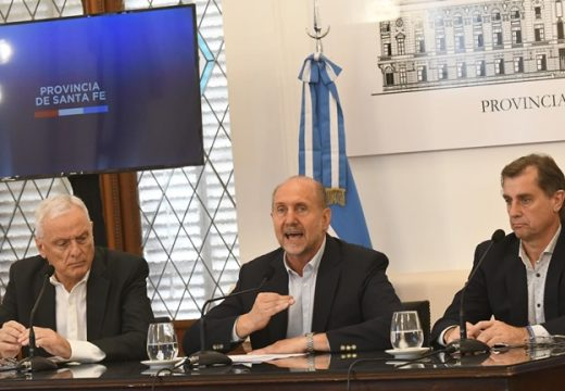 "Perotti: ""lo primero es la vida de los santafesinos"""
