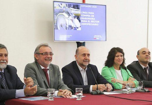 Cornaglia: «Se busca mejorar la productividad agropecuaria y promover el desarrollo de la industria de la maquinaria agrícola y láctea»