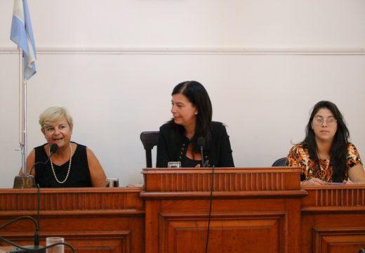 La intedenta abrió las sesiones ordinarias del consejo municipal