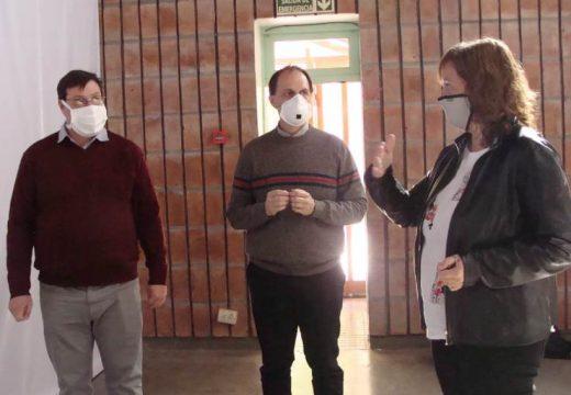 Rasetto y el Subsecretario de Salud recorrieron localidades de Iriondo.