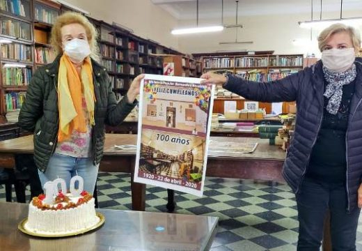 Clerici presente en los 100 años de la Biblioteca  Rivadavia.