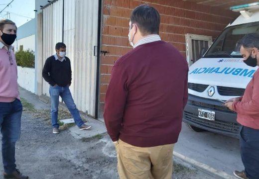 Cornaglia recorrió los SAMCo de las localidades del departamento