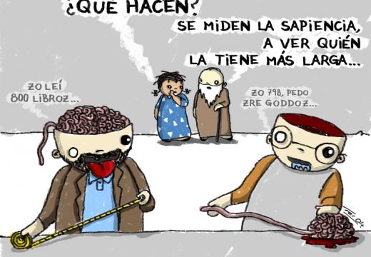 De repente René: «Sapiencia» – Por Fer Ola