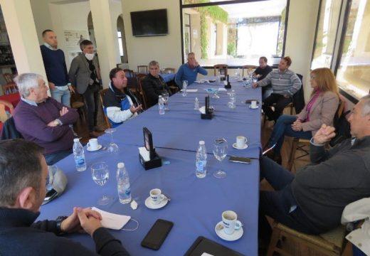 Giaccone se reunió por la Federación Golf del Sur del Litoral y Camara de Gimnasios Rosario.