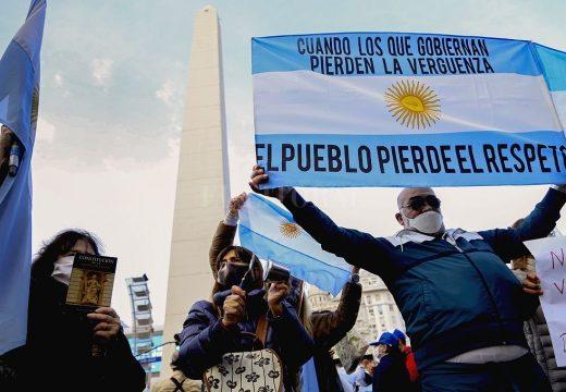 En casi 60 localidades de todo el país hubo marchas contra la expropiación de Vicentín.