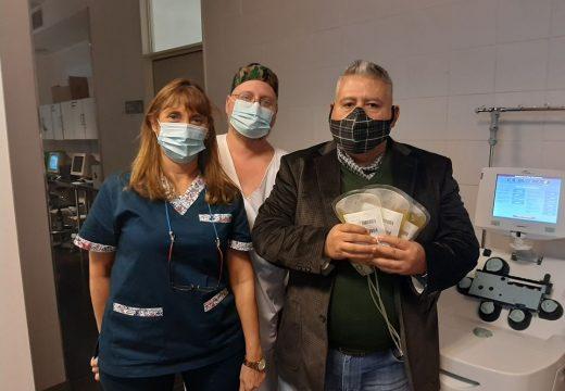 Alentadora respuesta de ex pacientes de Covid a la donación de plasma en Santa Fe.