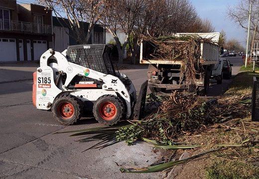 Cañada de Gómez. Municipio continúa trabajos de higiene urbana.