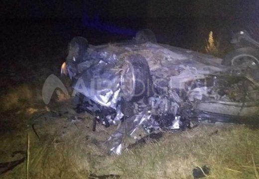Dos hermanos fallecieron en un accidente vial en San Genaro