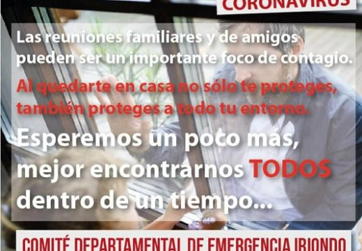 Comunicado de Comité Departamental de Emergencia Iriondo.