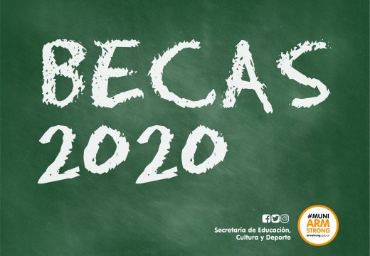 Armstrong. Becas Educativas Julio 2020.